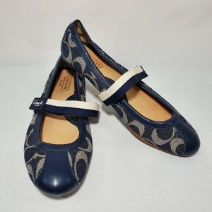 🔮SOLD🔮Coach JANEY Flats 8.5 Mary Janes Shoes